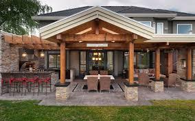 Kitchen Design Forum Interior Covered Outdoor Kitchen Within Good Covered Outdoor