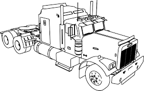 Old Ford Truck Coloring Pages - truck and trailer coloring pages cecilymae
