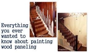 Old Wood Paneling Everything You Ever Wanted To Know About Painting Wood Paneling