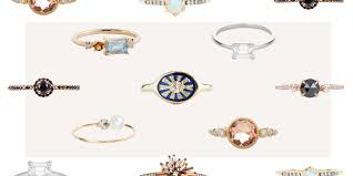 halloween wedding rings 18 most unique engagement rings of 2017 affordable alternative