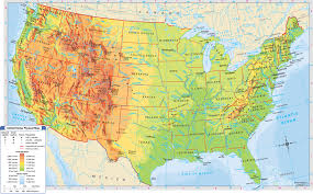 Blank Map Of The United States Of America by Maps Usa Map With Latitude Map Of Usa With Cities And Latitude