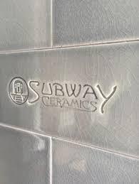 Glazed Crackled Subway Tile Kitchen Backsplash Pinterest - Crackle subway tile backsplash