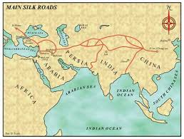 jesus route to india and china