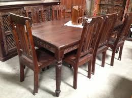 Wood Dining Room Wonderful Indian Dining Room Furniture For Decorating Ideas