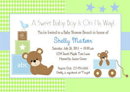 template shabby chic baby shower invitations