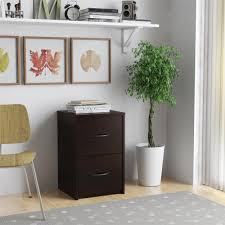 2 Drawer Oak Wood File Cabinet by Ameriwood Home Core 2 Drawer File Cabinet Espresso Walmart Com