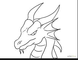 25 easy dragon drawings ideas simple