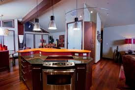 simple angled kitchen island ideas m black base counter stainless