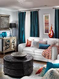 Teal Livingroom by Alluring 30 Orange Living Room Pictures Design Inspiration Of