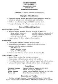 Medical Office Assistant Resume Examples by Job Resume Medical Receptionist Resume Sample Free Resume For