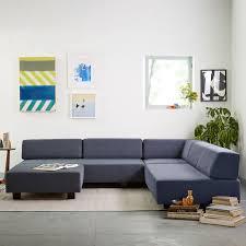 modular sofa sectional tillary 2 sofa sectional west elm