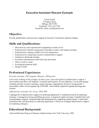 Sample Resume For Admin Assistant by Objective For Office Assistant Goals Of Administration Manager