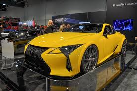 lexus coupe lc 500 lexus lc 500 unveiled at sema ups power with enlarged v 8