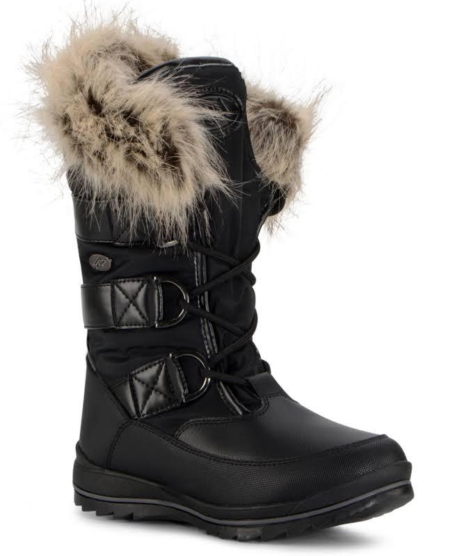 Lugz Tundra Boots Black- Womens