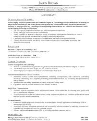 Chief Accountant Resume Sample Tax Analyst Cover Letter