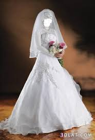 فساتين زفاف 2021  روعة للمحجبات