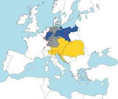 Map Of 1914 Europe by The German Confederation Deutscher Bund Map From 1820 Maps