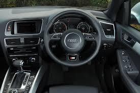 Audi Q5 Interior - audi q5 tdi pictures audi q5 front tracking auto express