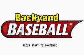 Original Backyard Baseball by Play Backyard Baseball Nintendo Game Boy Advance Online Play