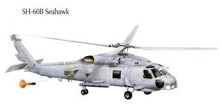 helicopters sh 60b seahawk painting art aviation