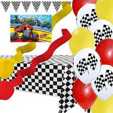 blaze monster machines poster banner balloon streamer