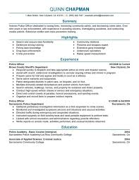 One of the best preparations you can do is to create a police resume using a police officer resume template which includes     Pinterest