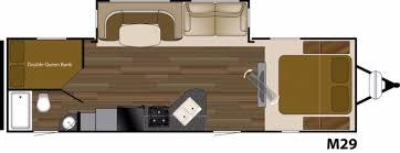 Fleetwood Bounder Floor Plans by Fleetwood Mallard Rv Floor Plans