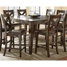 Steve Silver Dining Room Furniture Steve Silver Crosspointe Counter Height Dining Table Dark