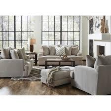 Living Room Furniture Chair Gabrielle Living Room Sofa U0026 Loveseat Cream 334603 Living