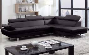 Piece Modern Bonded Leather Right Facing Chaise Sectional Sofa - Sofa modern 2