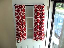 Custom Made Kitchen Curtains by Kitchen Door Curtains U2013 Teawing Co