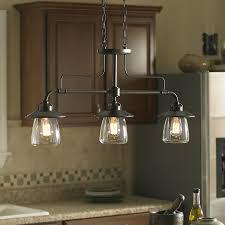 shop allen roth bristow 36 in w 3 light mission bronze kitchen