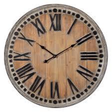 cooper classics linden oversized wall clock walmart com