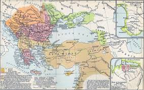Map Of 1914 Europe by Map Of The Ottoman Empire Dismemberment 1683 1908