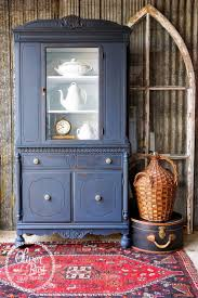 Kitchen China Cabinets Best 10 Blue China Cabinet Ideas On Pinterest Painted Hutch