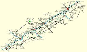 Roanoke Virginia Map by Shenandoah Valley Map Towns And Cities