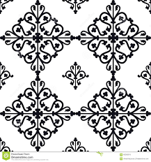 moroccan tiles pattern stock vector image 60393915