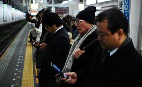 Japoneses y moviles