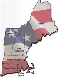 Map Of The New England Colonies by Michael By Michael Cui