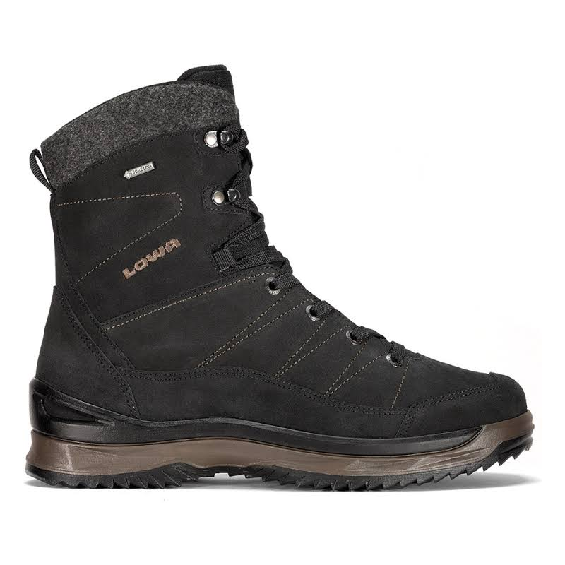 Lowa Sassello GTX Mid Winter Boots Black/Taupe Medium 13 4105129936-BP-MD-13