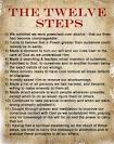 The twelve step program which