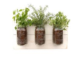Shabby Chic Planters by Reclaimed Wood Herb Planter Dark Wood Hanging Planter Indoor