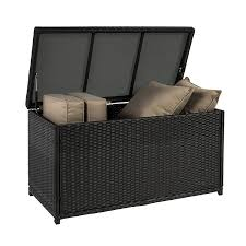 Best Wicker Patio Furniture Amazon Com Best Choiceproducts Wicker Deck Storage Box Weather