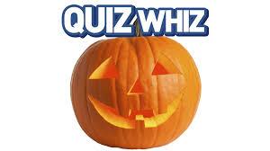 Halloween Quiz Printable quiz whiz halloween