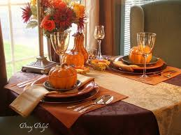 Decor For Dining Room Table Fall Dining Room Table Decorating Ideas Decorating Ideas For