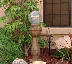 Gazing Ball Fountain Bernini Murano Color Changing Glass Ball Fountain Page 1 U2014 Qvc Com
