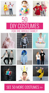 Halloween Costumes For Families by 50 Diy Halloween Costumes For The Whole Family Mom Spark Mom