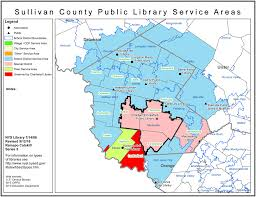 Ny County Map Sullivan County Find Your Public Library In New York State