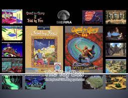 the toy box sierra adventure games sierra
