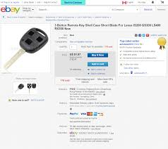 lexus key accessories lx spare keys ih8mud forum